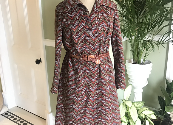 1970s Day Dress