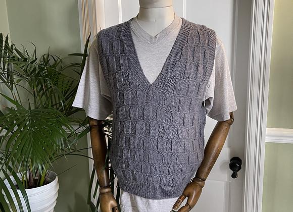 Hand Knitted Sleeveless Slipover