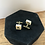 Thumbnail: Scrabble Cuff Links
