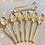 Thumbnail: Tea Spoons & Sugar Tongs in Original Canteen