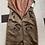 1950s Hand Beaded Satin Wiggle Dress Flat Back View