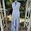 Thumbnail: White Maxi Dress with hem print