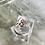 Thumbnail: Art Nouveau lavender stone Silver Ring