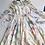Thumbnail: Floaty Chiffon Cream 1970s Dress