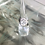 Thumbnail: Clear Stone Silver Set Ring