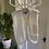 Thumbnail: Hand Knitted Cream Waist Coat