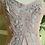 Thumbnail: 1950s Hand Beaded Crepe Dress