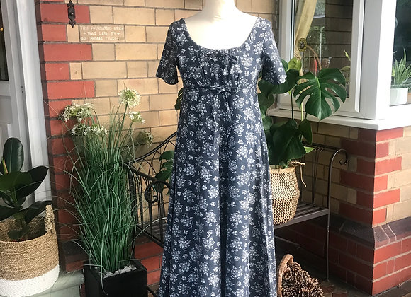 1970's Laura Ashley Midi Dress