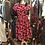 Thumbnail: 1950s Flock Chiffon Dress
