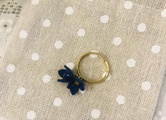 Adjustable Blue Bell Ring