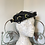 1940s Wired Hat Decorated with Grape Vines Front View