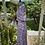 1980s Does 1940s  Floral Print Day Dress Side View