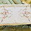 Thumbnail: Three Embroidered Vintage Tray Cloths