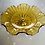 Thumbnail: 1930s Amber Coloured Fluted Dish