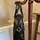 1960s Style Black Patent Handbag Side View