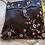 Thumbnail: Black Satin Embroidered Case