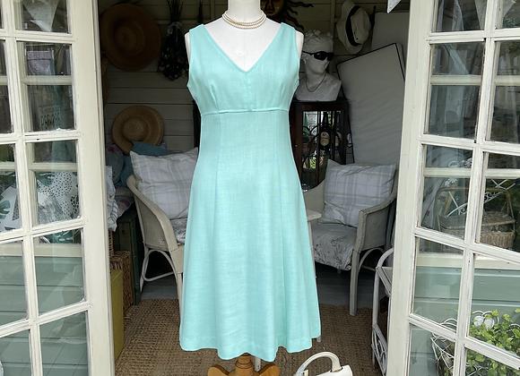 Linen Mix Princess Line Dress