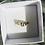 Thumbnail: Diamond Cut Gold Band with Diamond