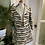 1960s Cream and Grey Dress and Jacket Suit Front View