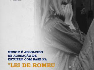 """Menor é absolvido de acusação de estupro com base na """"Lei de Romeu e Julieta"""""""