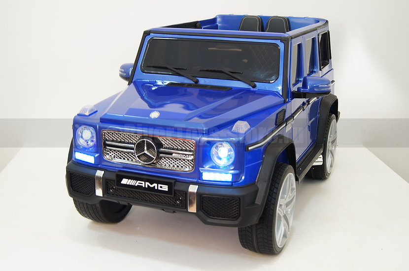 Электромобиль детский Mercedes Benz G65 AMG 4WD