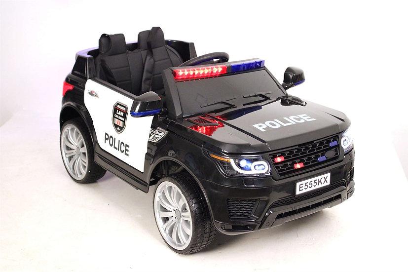 Электромобиль детский RANGE ROVER POLICE E555KX