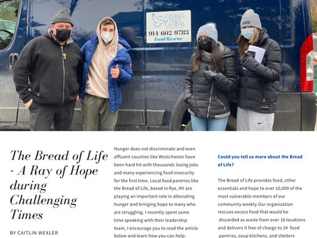 The Bread Of Life- A Ray Of Hope During Challenging Times