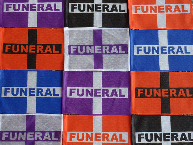 Funeral Flags Colors