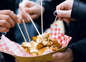 Restaurant street food pour festival