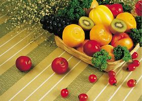 Panier de fruits frais de saison