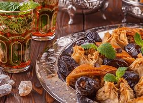 Traiteur événementiel marocain repas assis Marseille