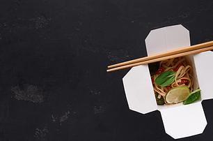 Food truck cuisine asiatique