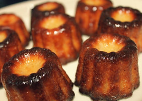 Plateau cocktail cannelés