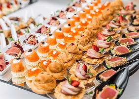 Cocktail dînatoire cuisine française Marseille