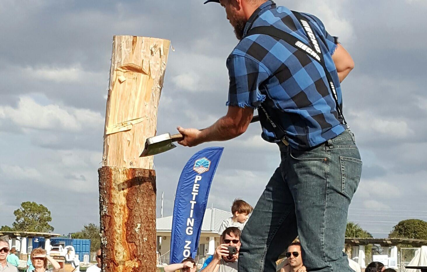 Springboard chop