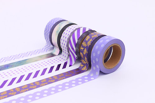 50 Sets of Washi Tapes - Purple