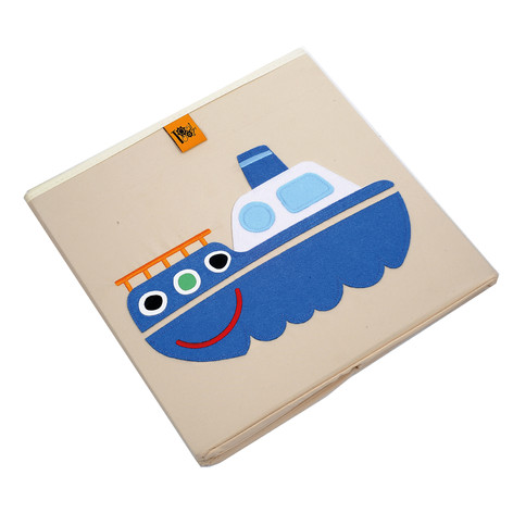 Toot Toot Ship Storage Box