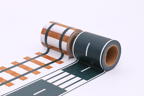 50 sets of Washi Tape - Road & Rail