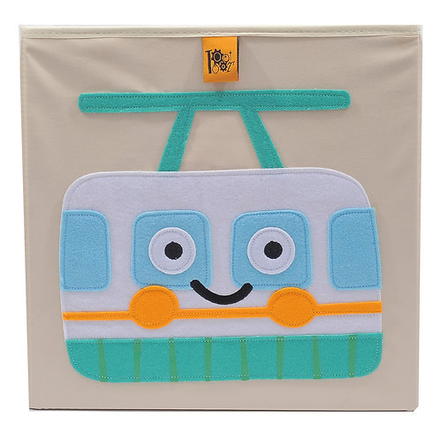 Toot Toot Storage Box - Cable Car