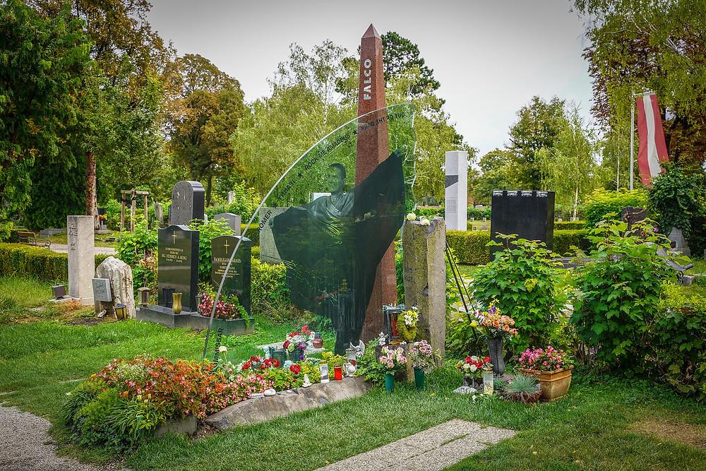 Wiener Zentralfriedhof - Grab von Falco