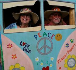 love bus Jan & Ted