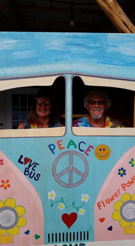 love bus Sherrell & Amos