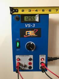 Allied Edison VS-3 power supply width