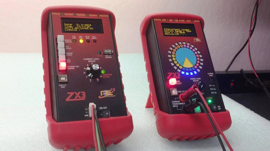 ZX3 Base & Tracer Ground Detection & Location Equipment