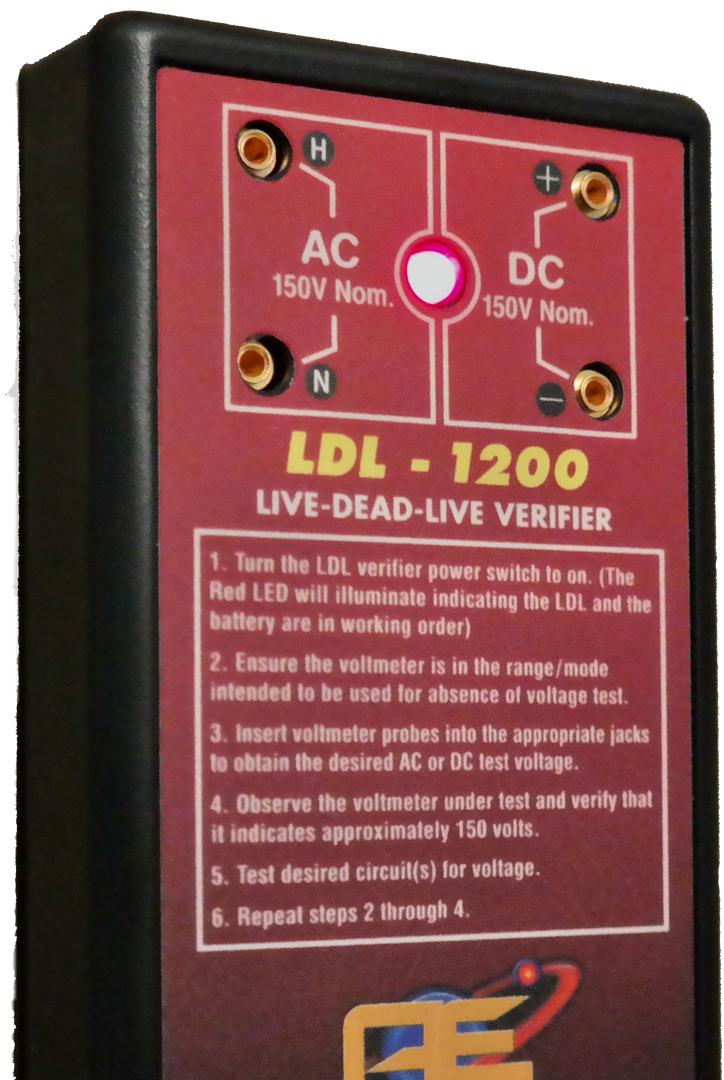 LDL-1200 Verifier Front Connections
