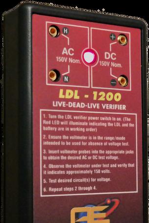 LDL-1200 Verifier Front Connections