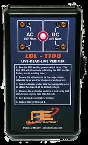 Allied Edison LDL-1100 Live-Dead-Live Verifier