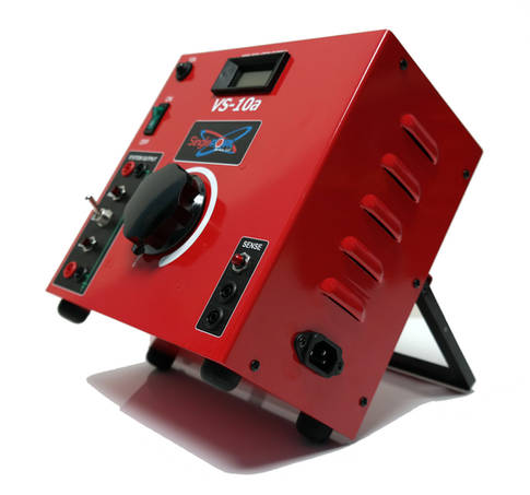 VS-10 Power Supplies with rear stand.