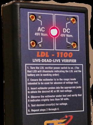 Allied Edison LDL1100 Verifier Close Front Connections