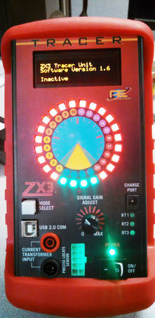 A ZX3 Tracer Unit Powering On